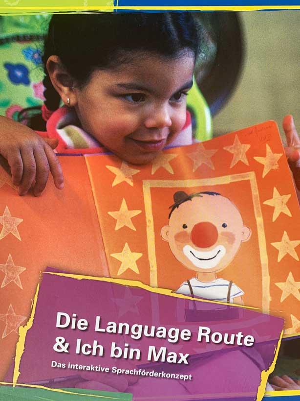 Language Route ich bin Max